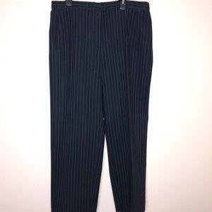ARMANI COLLEZIONI    blue white pink stripe pants
